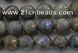 CLB613 15.5 inches 10mm faceted round AB-color labradorite beads
