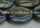 CLB655 15.5 inches 30*40mm oval AB-color labradorite beads