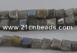 CLB752 15.5 inches 7*9mm faceted trapezoid labradorite gemstone beads