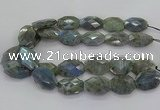 CLB770 15.5 inches 20*25mm - 22*30mm faceted freeform labradorite beads