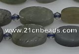 CLB976 15.5 inches 10*16mm oval labradorite gemstone beads