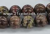CLD05 15.5 inches 12mm round leopard skin jasper beads wholesale