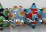 CLG828 15.5 inches 12*17mm lampwork glass beads wholesale