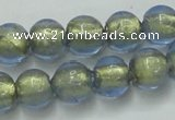 CLG831 15.5 inches 8mm round lampwork glass beads wholesale