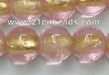 CLG838 15.5 inches 12mm round lampwork glass beads wholesale