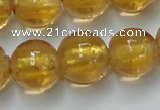 CLG842 15.5 inches 12mm round lampwork glass beads wholesale