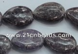 CLI06 15.5 inches 18*25mm teardrop natural lilac jasper beads wholesale