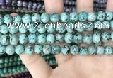 CLJ518 15.5 inches 4mm,6mm,8mm,10mm & 12mm round sesame jasper beads