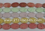 CLV305 15.5 inches 20*30mm oval lava beads wholesale