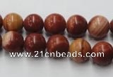 CMA203 15.5 inches 10mm round red malachite beads wholesale