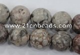 CMB07 15.5 inches 16mm round natural medical stone beads wholesale