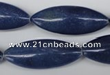 CME11 15.5 inches 15*40mm marquise blue aventurine beads