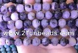 CME330 15.5 inches 9*11mm - 10*12mm pumpkin black rutilated quartz beads