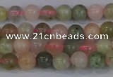 CMG161 15.5 inches 6mm round morganite gemstone beads wholesale