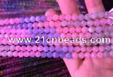 CMG315 15.5 inches 6mm round morganite gemstone beads