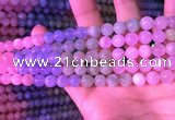 CMG317 15.5 inches 8mm round morganite gemstone beads