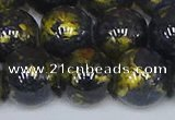 CMJ1009 15.5 inches 12mm round Mashan jade beads wholesale