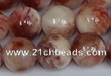 CMJ1168 15.5 inches 12mm round Persian jade beads wholesale