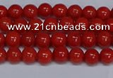 CMJ121 15.5 inches 6mm round Mashan jade beads wholesale