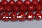 CMJ122 15.5 inches 8mm round Mashan jade beads wholesale