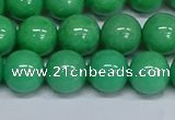 CMJ131 15.5 inches 12mm round Mashan jade beads wholesale