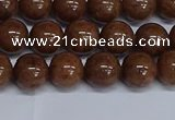 CMJ186 15.5 inches 10mm round Mashan jade beads wholesale