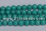 CMJ190 15.5 inches 4mm round Mashan jade beads wholesale