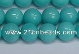 CMJ194 15.5 inches 12mm round Mashan jade beads wholesale