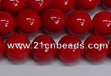 CMJ229 15.5 inches 12mm round Mashan jade beads wholesale