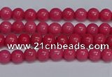 CMJ232 15.5 inches 4mm round Mashan jade beads wholesale