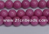 CMJ248 15.5 inches 8mm round Mashan jade beads wholesale