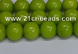 CMJ270 15.5 inches 10mm round Mashan jade beads wholesale
