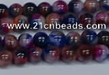 CMJ429 15.5 inches 6mm round rainbow jade beads wholesale