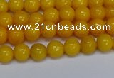 CMJ44 15.5 inches 6mm round Mashan jade beads wholesale