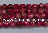 CMJ477 15.5 inches 4mm round rainbow jade beads wholesale