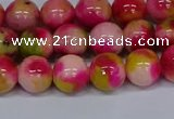 CMJ515 15.5 inches 10mm round rainbow jade beads wholesale