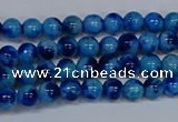 CMJ540 15.5 inches 4mm round rainbow jade beads wholesale