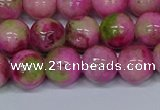 CMJ551 15.5 inches 12mm round rainbow jade beads wholesale