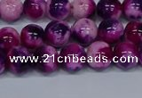 CMJ584 15.5 inches 8mm round rainbow jade beads wholesale