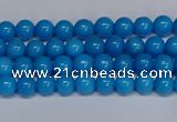 CMJ64 15.5 inches 4mm round Mashan jade beads wholesale