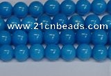 CMJ65 15.5 inches 6mm round Mashan jade beads wholesale