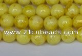 CMJ905 15.5 inches 4mm round Mashan jade beads wholesale