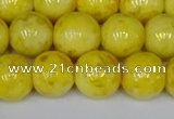 CMJ907 15.5 inches 8mm round Mashan jade beads wholesale