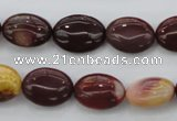 CMK140 15.5 inches 12*16mm oval mookaite beads wholesale