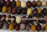 CMK220 15.5 inches 5*8mm rondelle mookaite gemstone beads