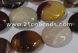 CMK259 15.5 inches 13*18mm oval mookaite gemstone beads