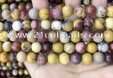 CMK348 15.5 inches 10mm round mookaite jasper beads wholesale