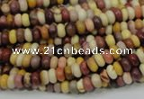 CMK62 15.5 inches 3*6mm rondelle mookaite gemstone beads wholesale