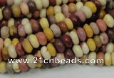 CMK63 15.5 inches 4*8mm rondelle mookaite gemstone beads wholesale