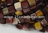 CMK70 15.5 inches 8*8mm cube mookaite gemstone beads wholesale